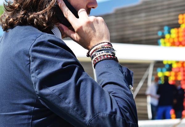 Bracelet pour homme comment le porter for Men a porter