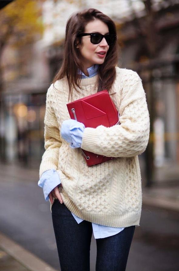 Exceptionnel Pull et chemise : les indispensables pour un look alpin rétro et chic OC72